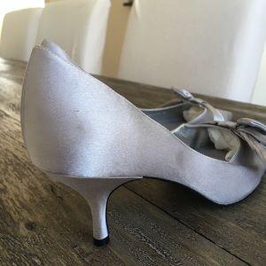 Nina silver / Grey Dress Heel